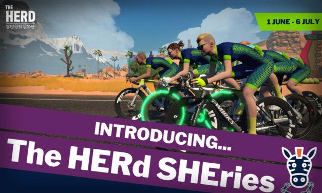 Ladies Racing on Zwift: The HERd SHEries Begins June 1