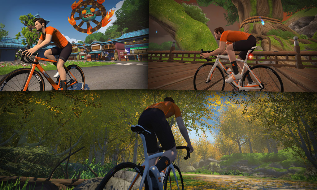 Route Maps & Details for Zwift's Makuri Islands Course