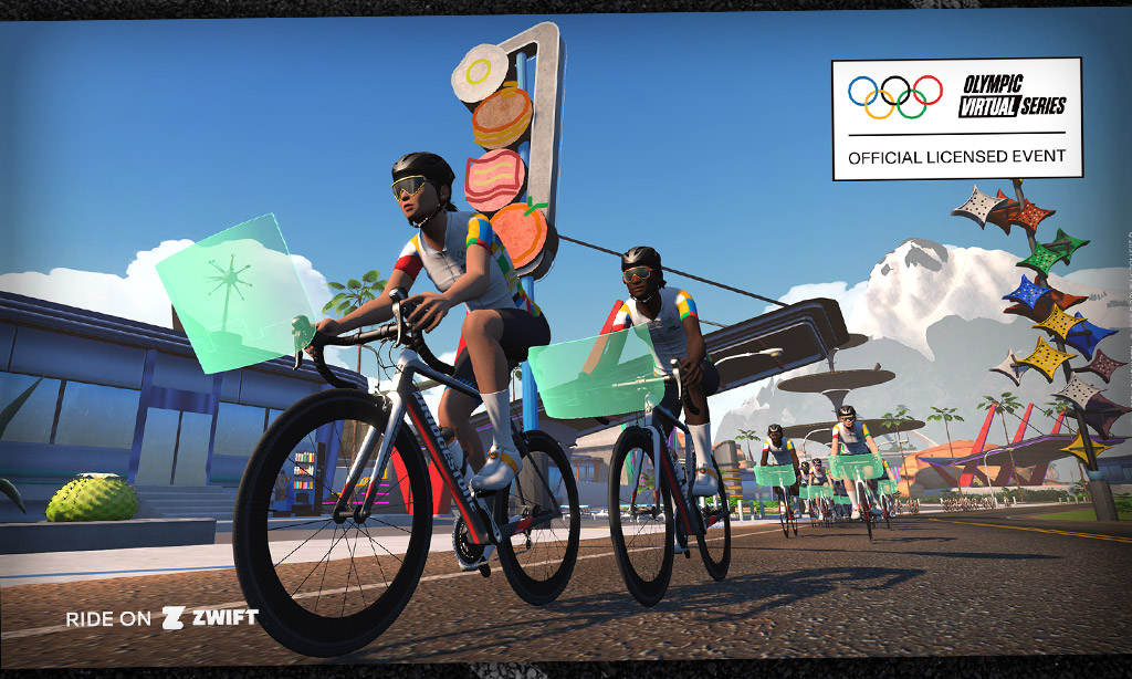 All About the Olympic Virtual Series Events on Zwift