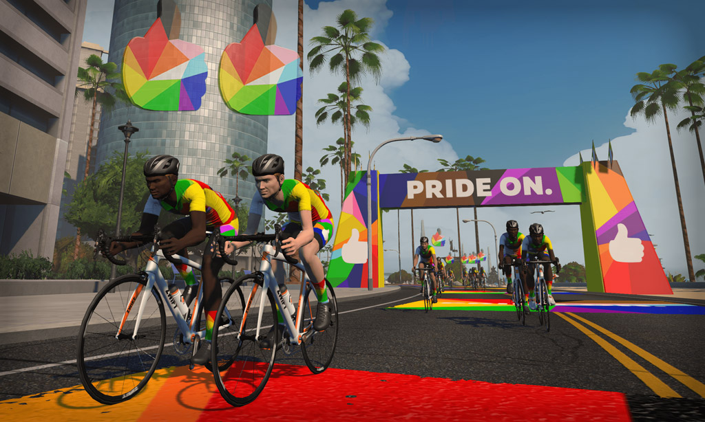 All About Pride On 2021 on Zwift