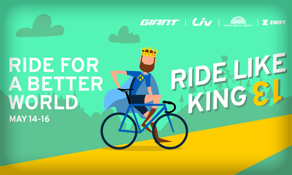 """All About this Weekend's """"Ride Like King 13"""" WBR Benefit Events"""