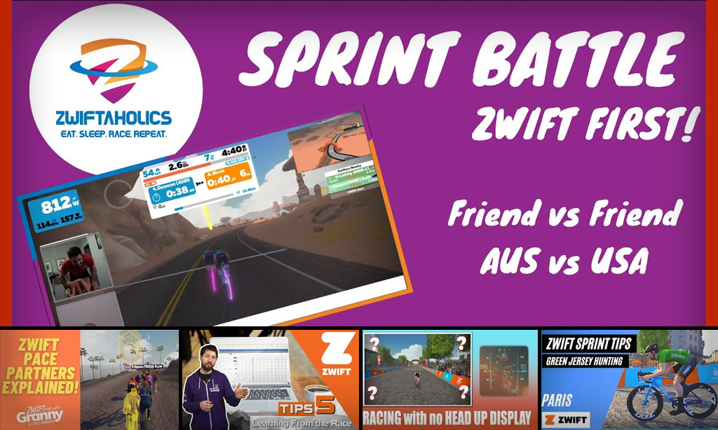 Top 5 Zwift Videos: Back to Fitness, Winning Races, and Climbing