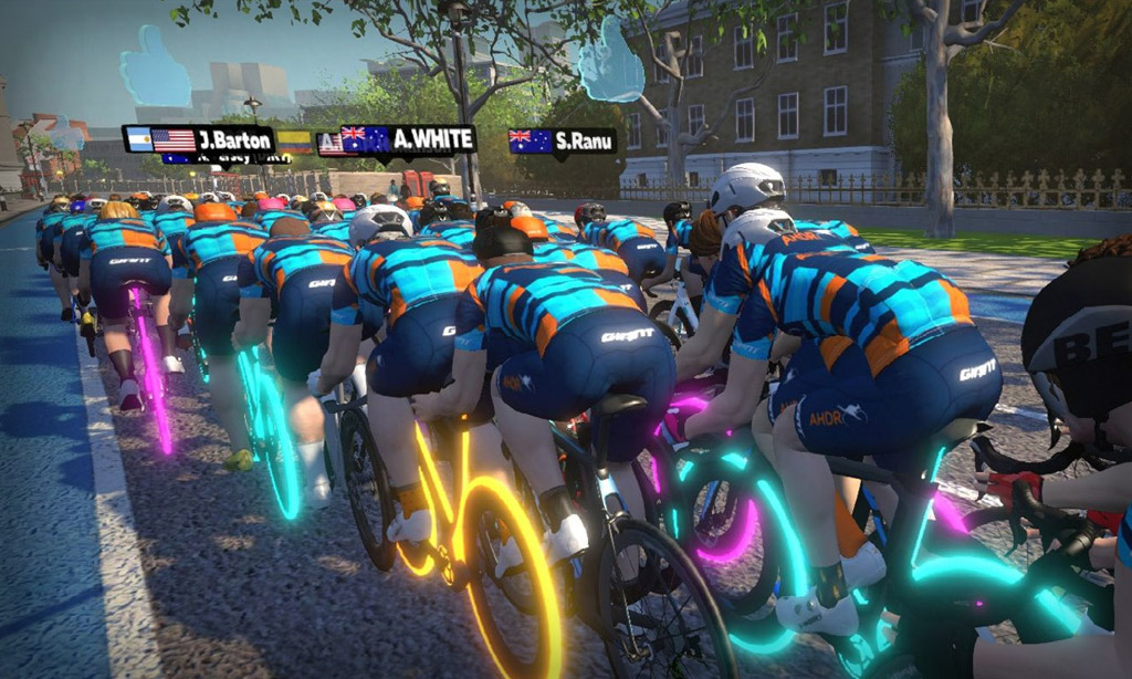 Behind the Scenes of a Group Ride