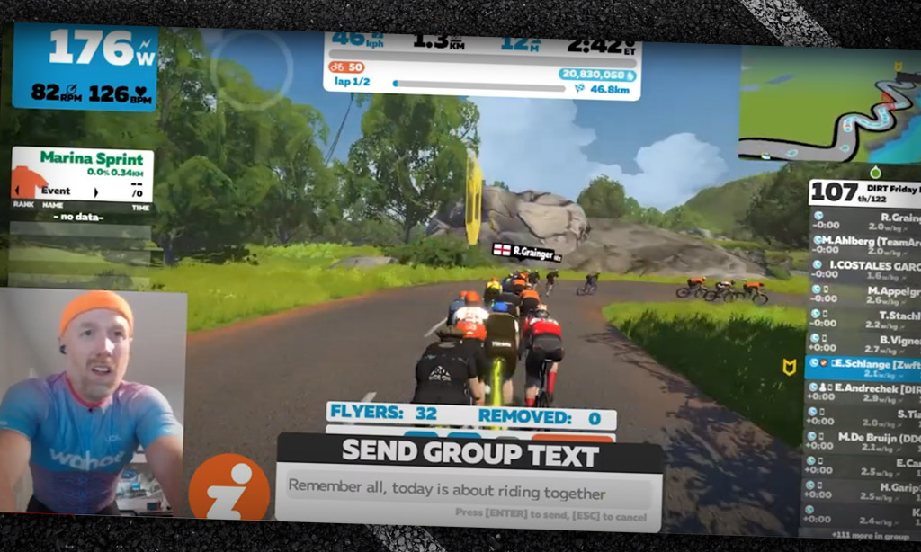 How to Lead A Zwift Group Ride – Friday Pacific Sprintapalooza