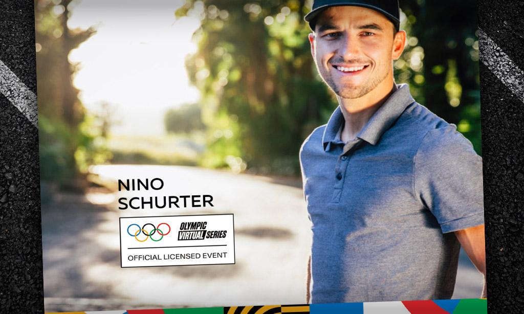 Olympic Virtual Series – Nino Schurter (Zwift PowerUp Cycling Podcast)