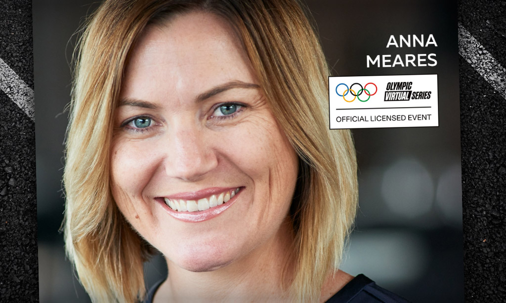 Olympic Virtual Series – Anna Meares (Zwift PowerUp Cycling Podcast)