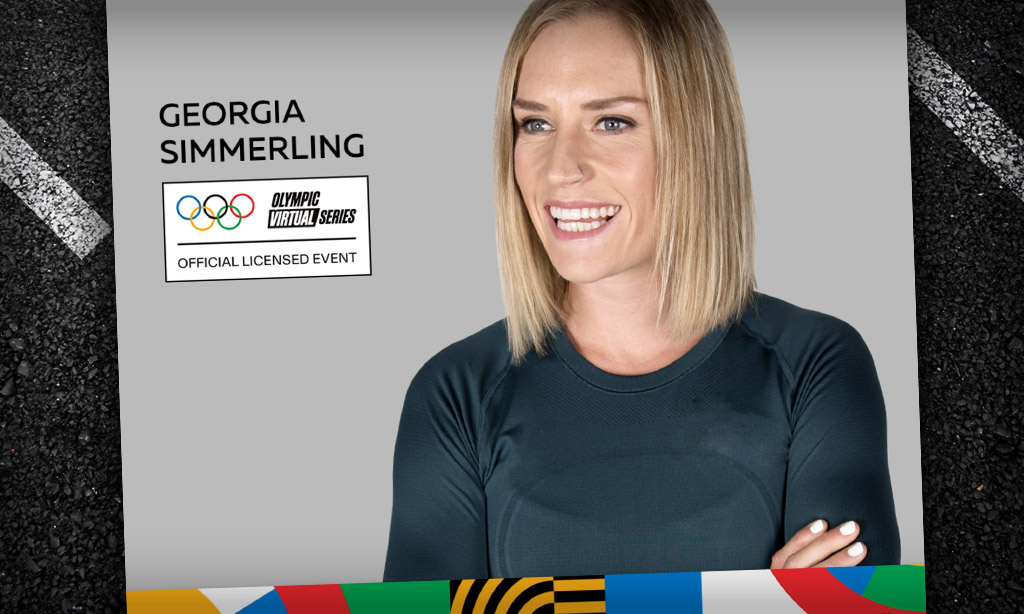 Olympic Virtual Series – Georgia Simmerling (Zwift PowerUp Cycling Podcast)