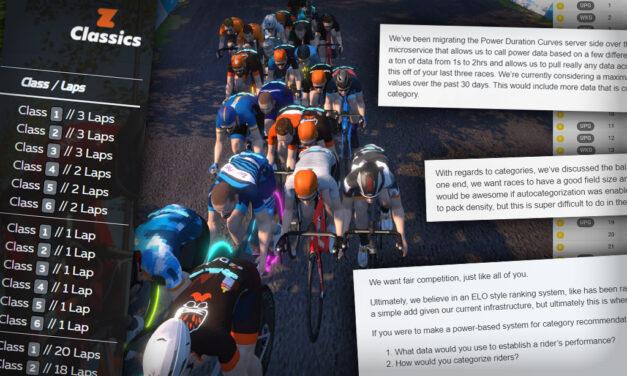 Zwift Racing Development – a Progress Update