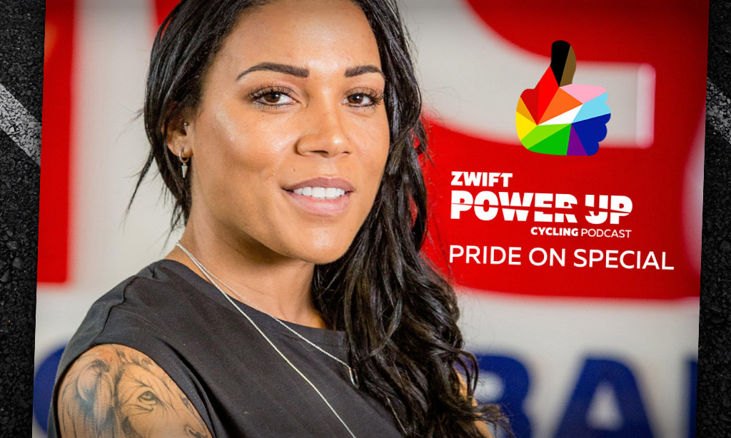 Pride On Special – Celebrating Shanaze Reade's Incredible Career (Zwift PowerUp Cycling Podcast)