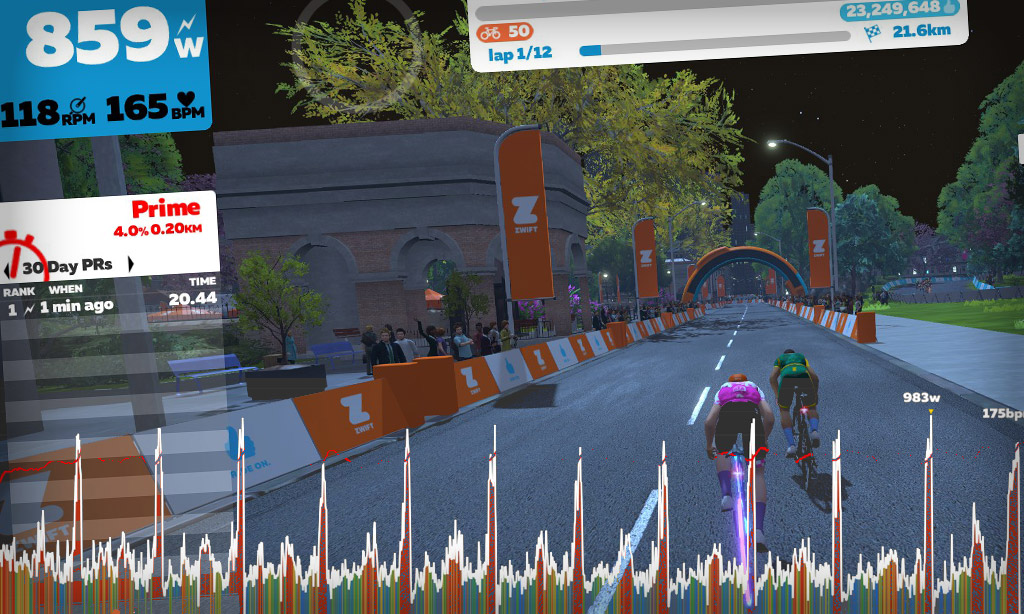 How the Race Was Won: Bullseye Points Race  on Crit City's Downtown Dolphin