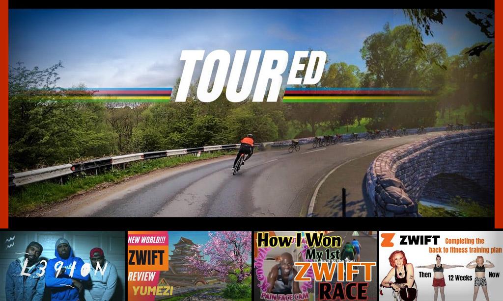 Top 5 Zwift Videos: Virtual Worlds, Team Spirit, and Zwift Victories
