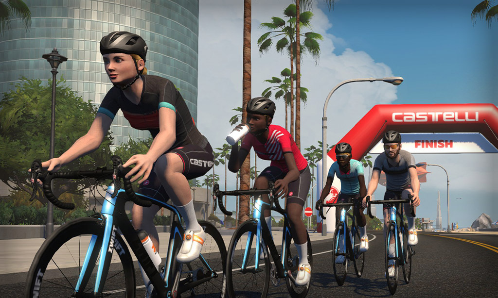 The Evolution of the Castelli Ride on Zwift