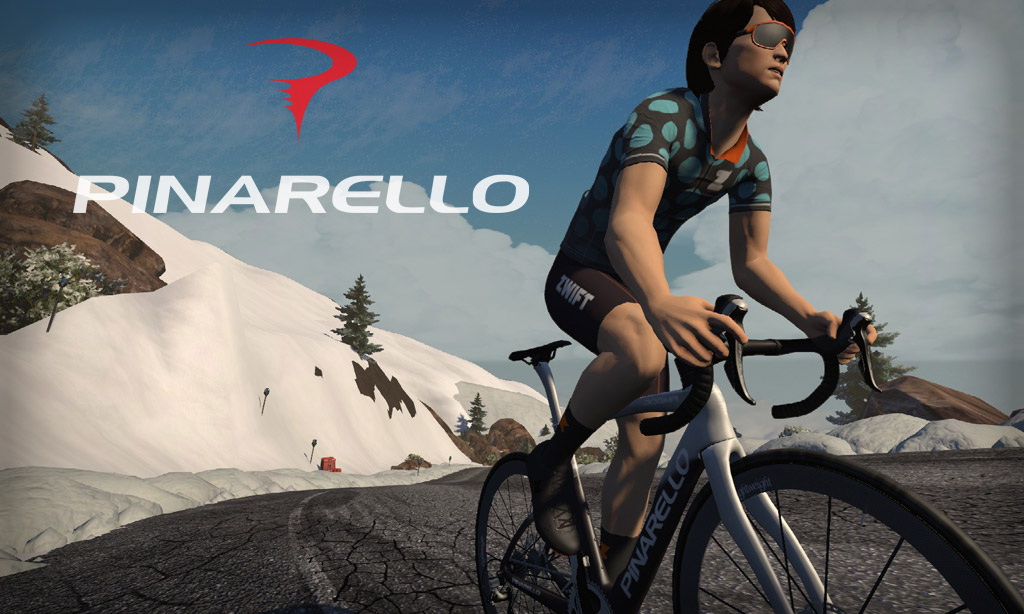 All About Zwift's Pinarello Dogma F Frame