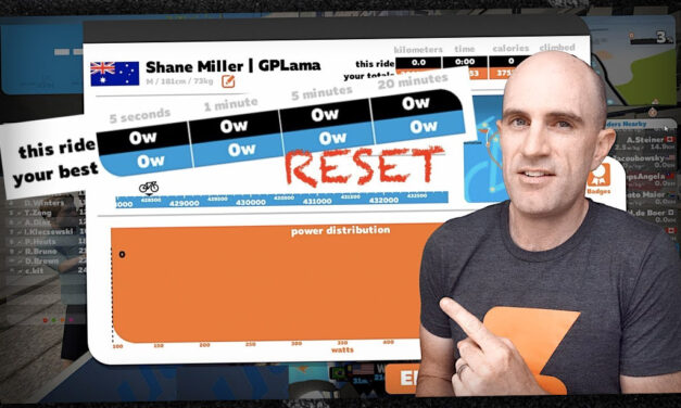 Swift Zwift Tip: Reset Personal Best Power Numbers