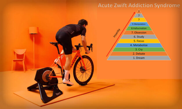 Lucianotes: Diagnosed with Acute Zwift Addiction Syndrome (A.Z.A.S.)