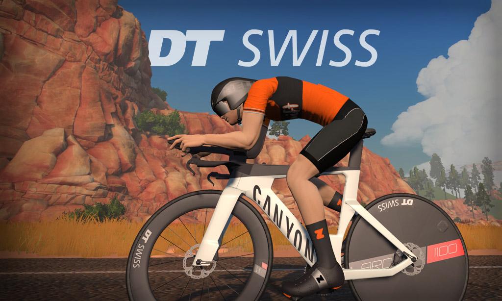 All About Zwift's New DT Swiss ARC 1100 DICUT DISC Wheelset