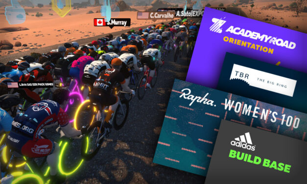 Notable Zwift Events for the Weekend of August 21-22