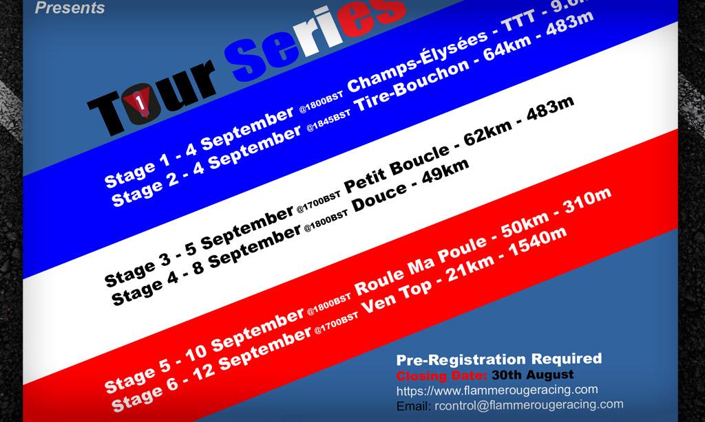 FRR Tour Series Races Announced