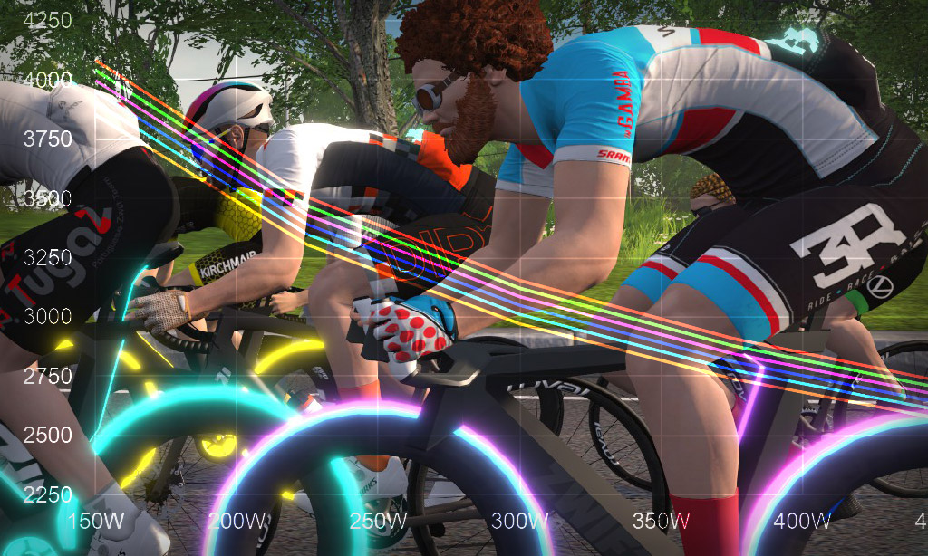 Speed Tests: How Rider Height Affects Speed In Zwift