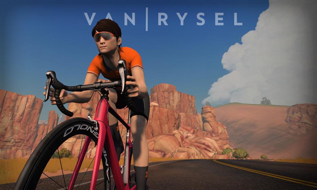 All About Zwift's New Van Rysel EDR CF Bike Frame