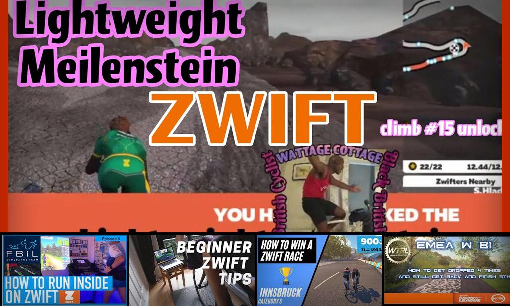 Top 5 Zwift Videos: Wheel Seeking, Running, and Single Speed Zwifting