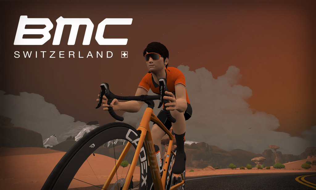All About Zwift's New BMC Roadmachine Frame