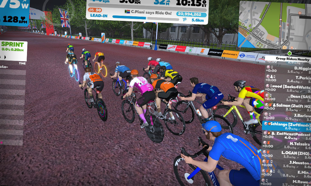 First Look: Pack Dynamics 3.0 on Zwift