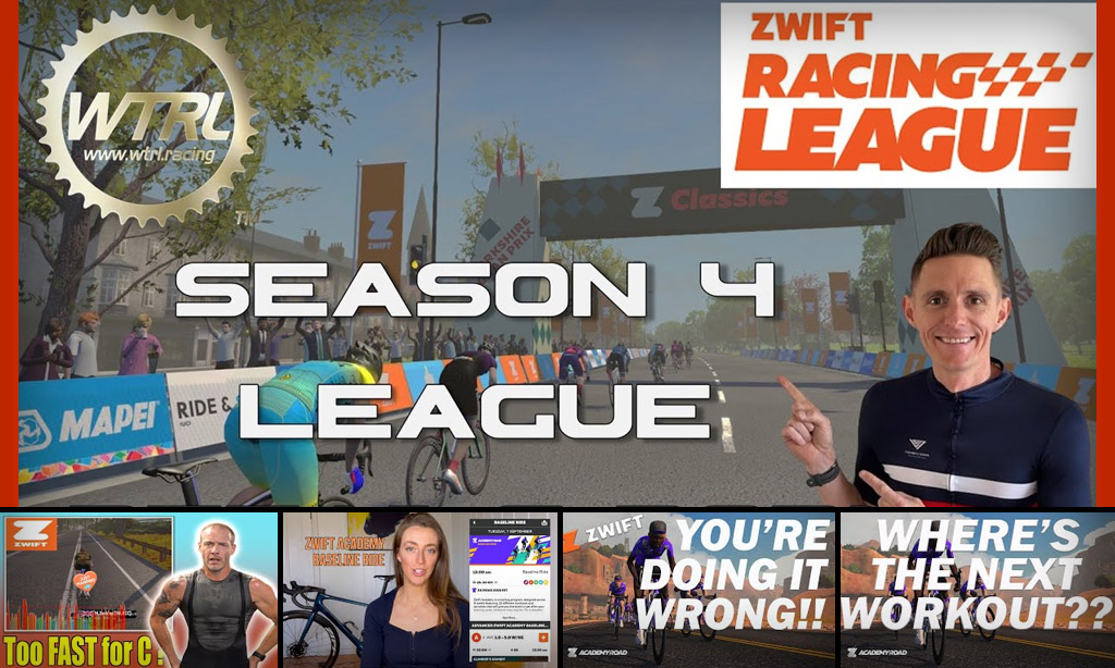 Top 5 Zwift Videos: Zwift Racing League, Upgrading Yourself, and Zwift Academy