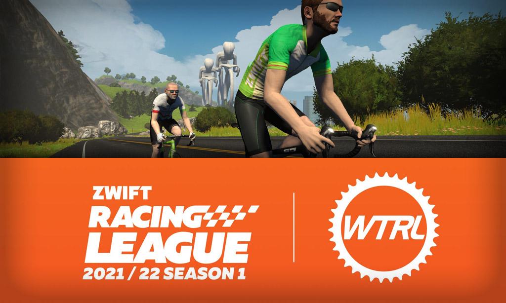 Week 2 Race Details (Watopia Figure 8 Reverse) for Zwift Racing League