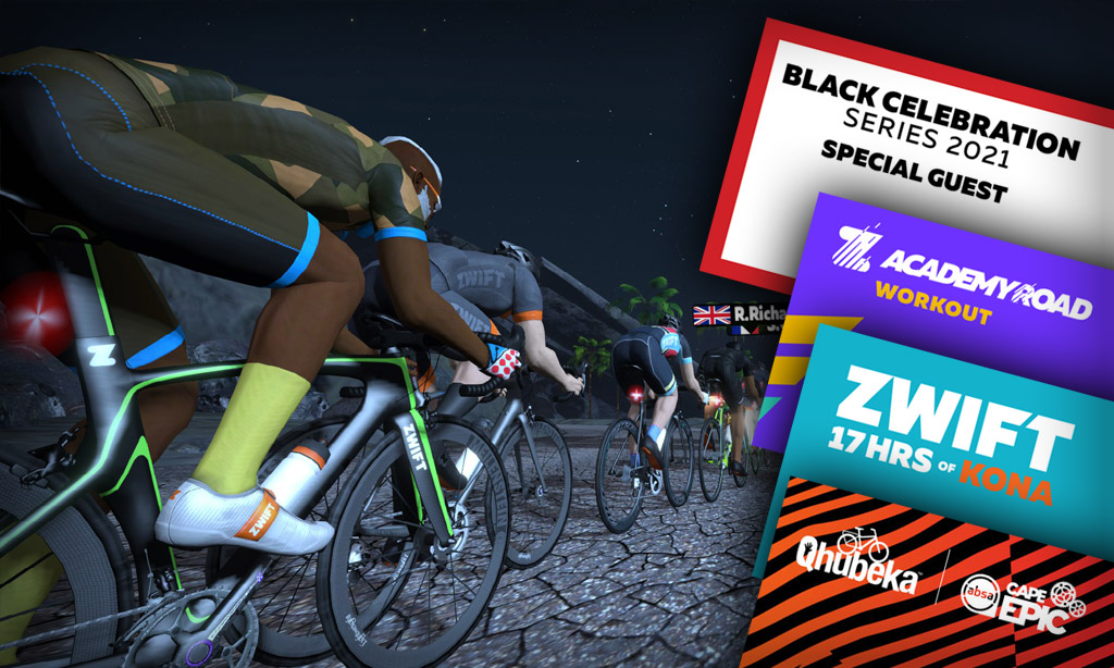 Notable Zwift Events for the Weekend of October 9-10