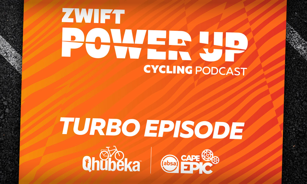 ABSA Cape Epic | Qhubeka Special – Andrew McLean (Zwift PowerUp Cycling Podcast)