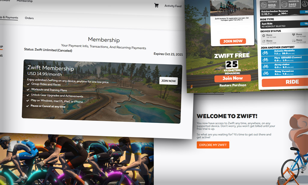 How to Reactivate Your Zwift Subscription