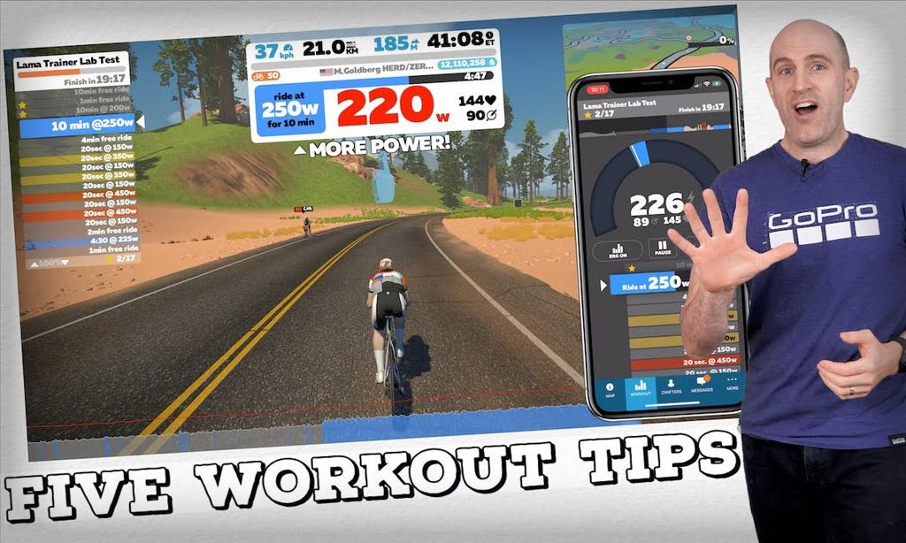 5 Zwift Companion App Workout Tips