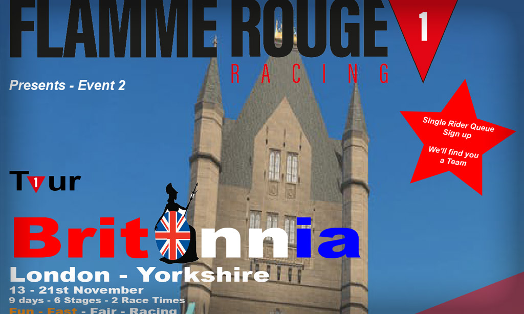 """Flamme Rouge Racing 6 Stage """"Tour Britannia"""" Announced for November 13-21"""