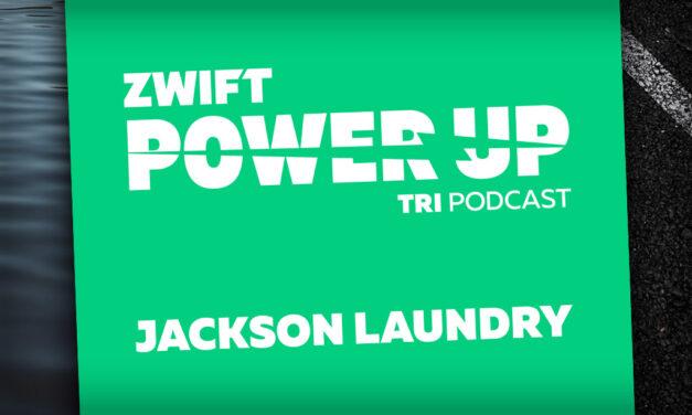 Jackson Laundry on His Career So Far (Zwift PowerUp Tri Podcast #44)